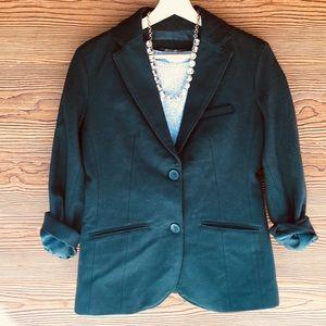 Eddie Bauer Blazer | Wool Hunter Emerald Green | 4